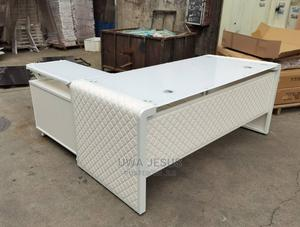 White Executive Table | Furniture for sale in Lagos State, Surulere
