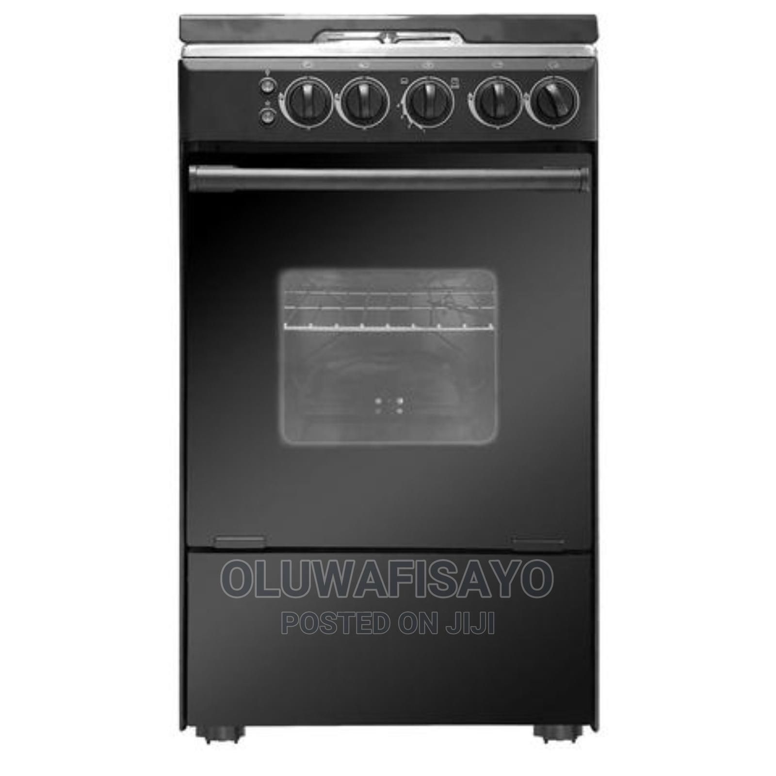 Midea 4 Burner Gas Cooker + Oven + Grill, 20bmg4g007-B