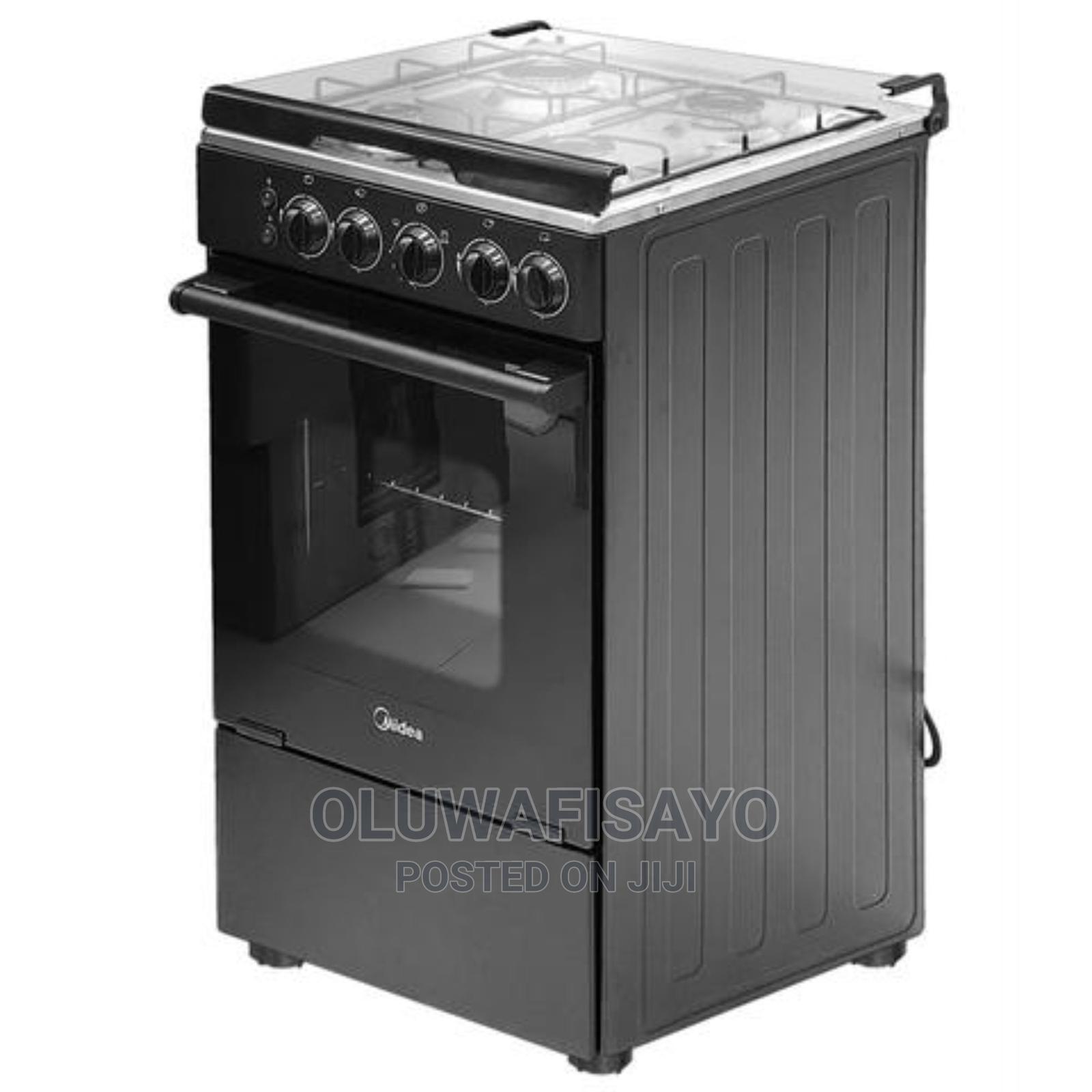 Midea 4 Burner Gas Cooker + Oven + Grill, 20bmg4g007-B | Kitchen Appliances for sale in Ogudu, Lagos State, Nigeria