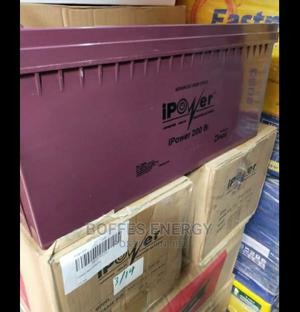 Ipower Deep Cycle Battery 200AH 12V   Solar Energy for sale in Ogun State, Ayetoro