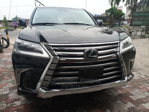 Lexus LX 2018 570 Three-Row Black | Cars for sale in Rivers State, Port-Harcourt