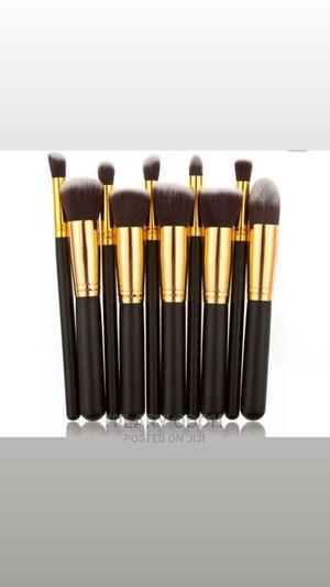 Kabuki Brush Set by 10   Makeup for sale in Lagos State, Ojo