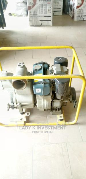 Robin Trash Diesel Water Pump 4inches | Plumbing & Water Supply for sale in Lagos State, Ojo