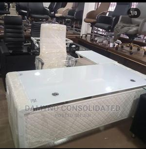 Superior Quality White Executive Office Table | Furniture for sale in Lagos State, Magodo