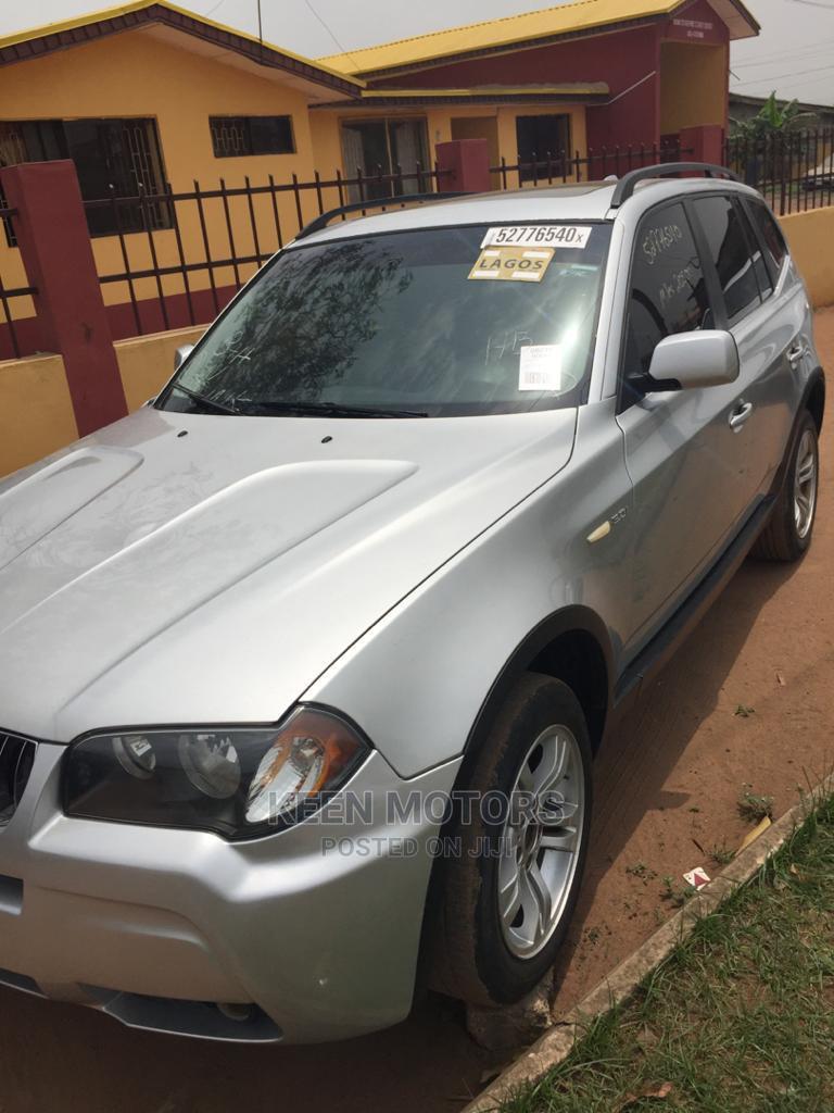 BMW X3 2006 2.5i Silver