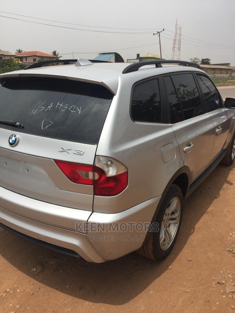 BMW X3 2006 2.5i Silver | Cars for sale in Ado-Odo/Ota, Ogun State, Nigeria