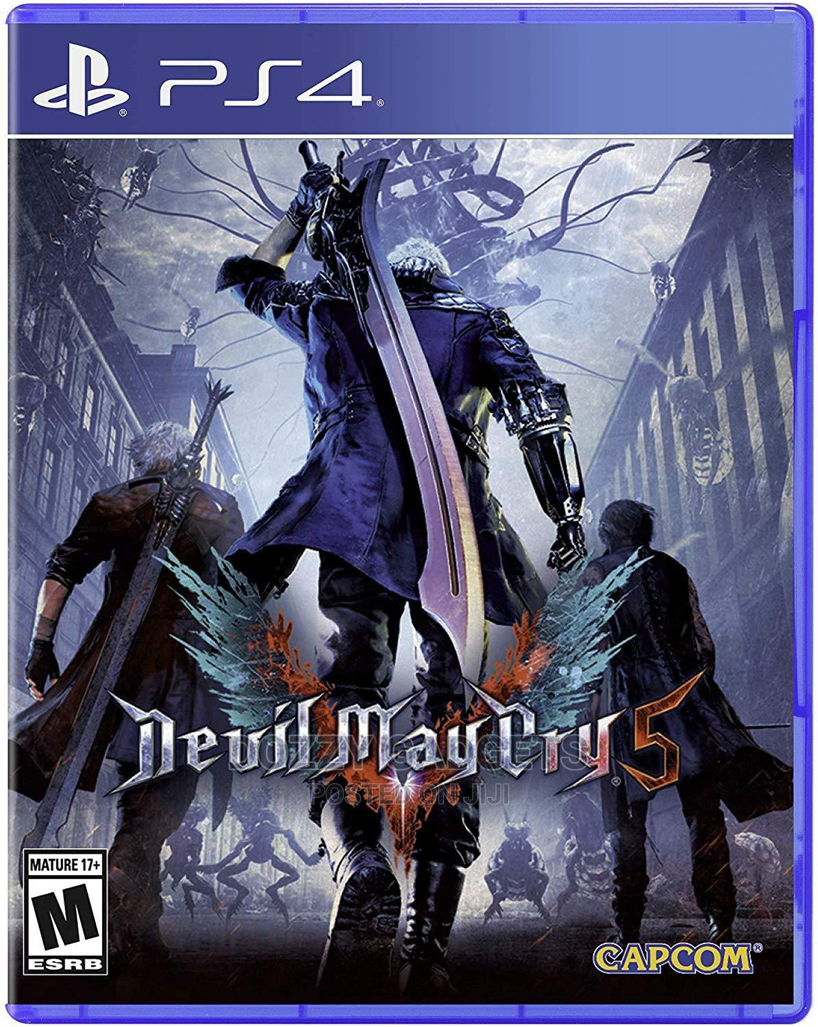 Archive: Capcom Devil May Cry 5 - Playstation 4