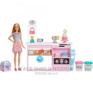 Barbie Cake Decorating Playset With Blonde Doll, Baking Isla | Toys for sale in Lagos State, Ajah