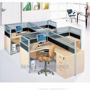 Four Seaters Workstations Desk   Furniture for sale in Abuja (FCT) State, Wuse
