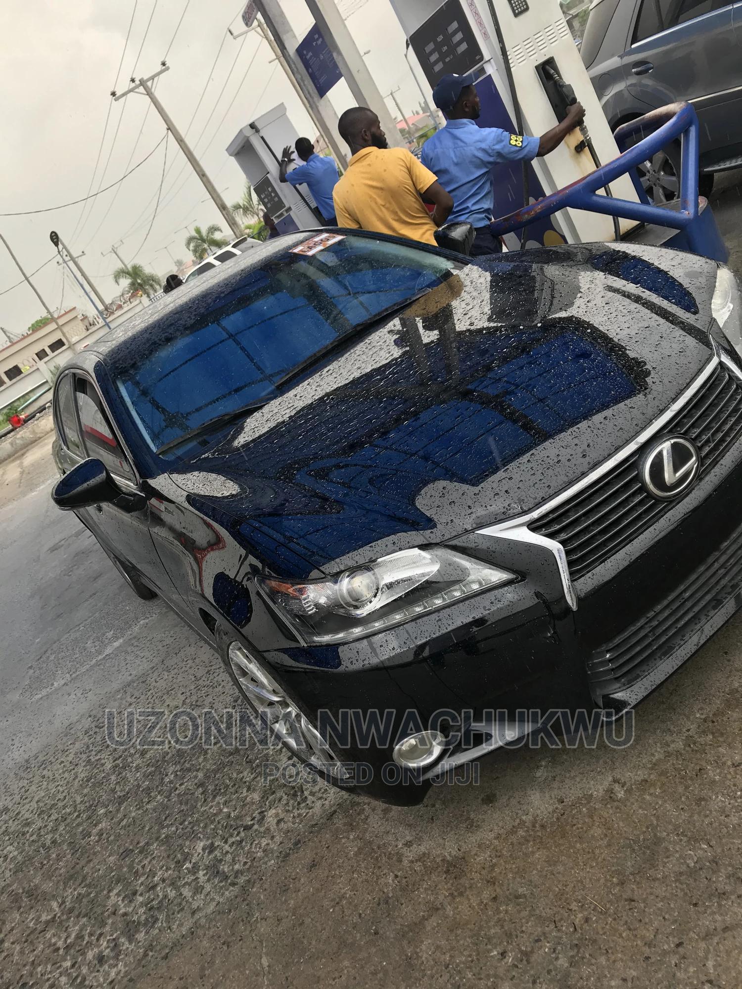 Lexus GS 2015 Black