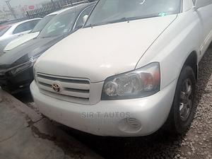 Toyota Highlander 2004 V6 AWD White   Cars for sale in Oyo State, Ibadan