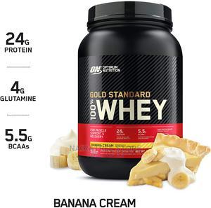 Gold Standard Whey Protein Powder, Banana Cream 2 Lb   Vitamins & Supplements for sale in Lagos State, Lekki