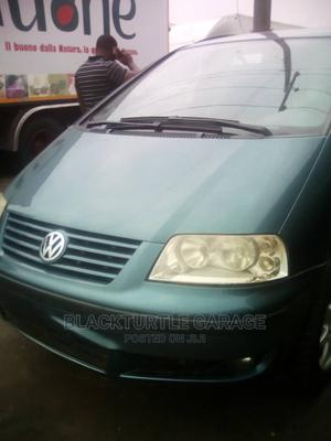 Volkswagen Sharan 2002 Automatic Green   Cars for sale in Lagos State, Surulere