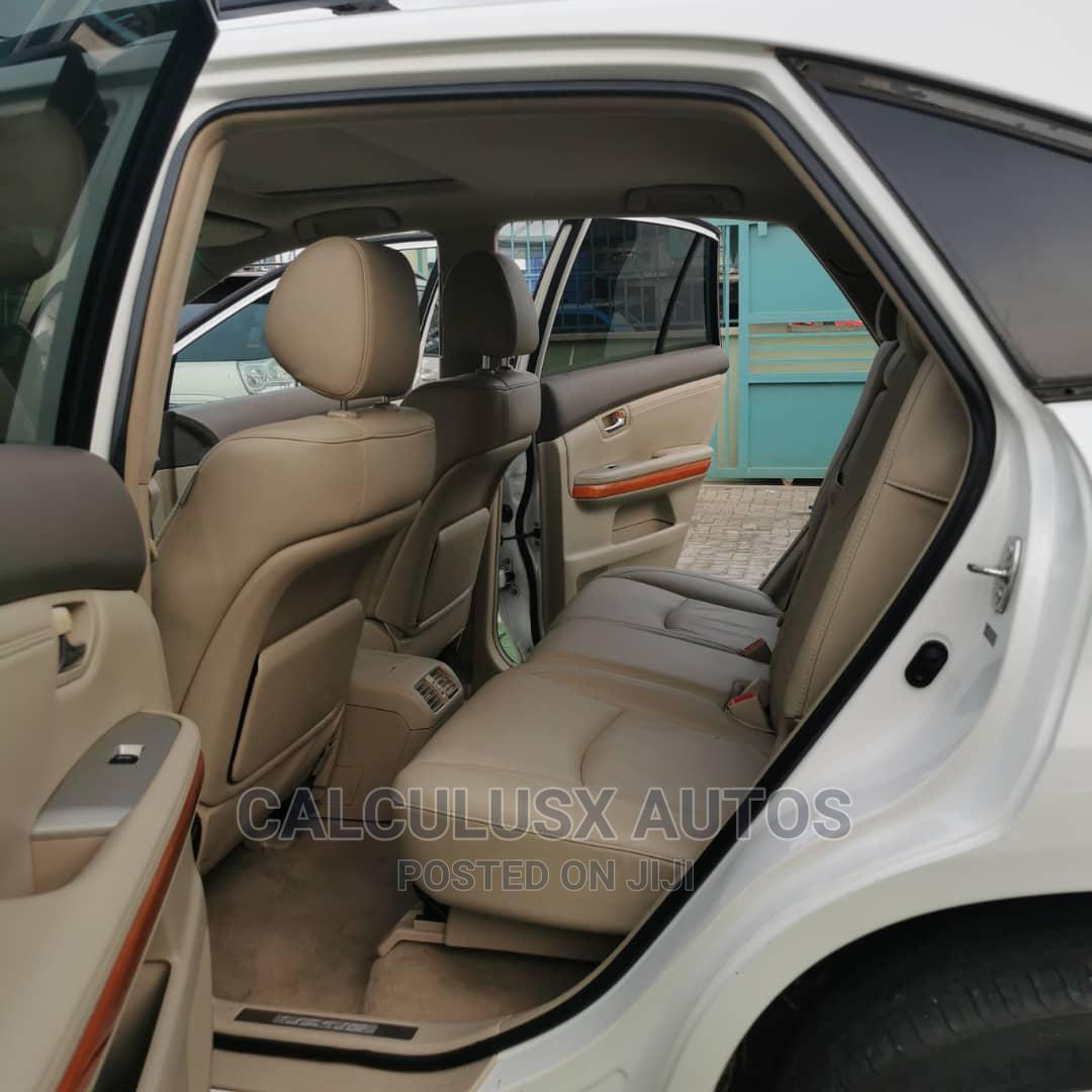 Archive: Lexus RX 2007 350 4x4 White