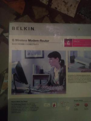 G Belkin Wireless Router Modem   Networking Products for sale in Lagos State, Ikeja