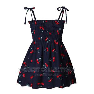 Girls Smoked Dress - Blue | Children's Clothing for sale in Lagos State, Surulere