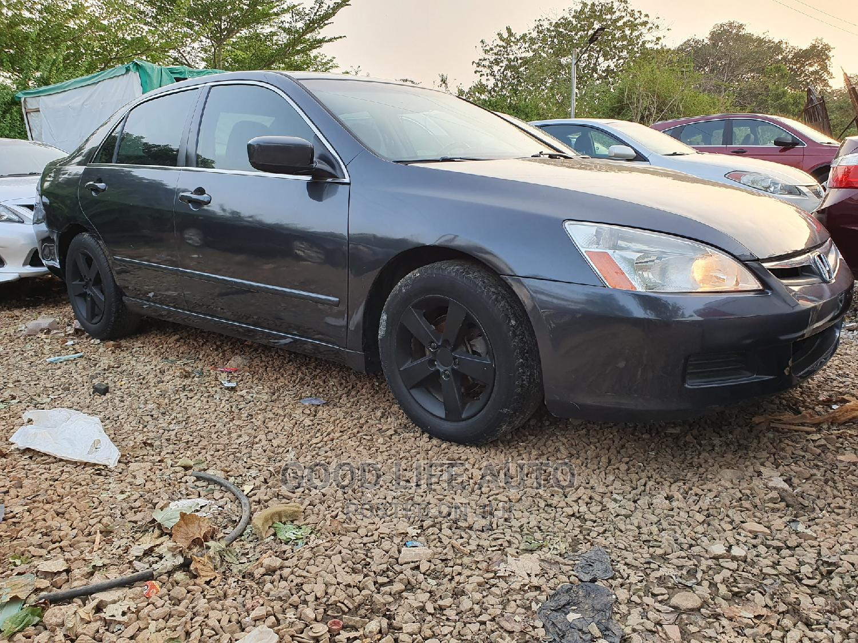 Honda Accord 2007 2.0 Comfort Gray | Cars for sale in Gwarinpa, Abuja (FCT) State, Nigeria
