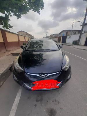 Hyundai Elantra 2013 Black | Cars for sale in Lagos State, Surulere