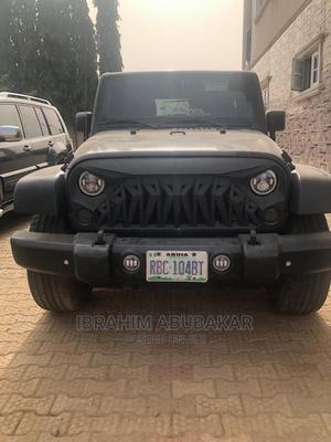 Jeep Wrangler 2013 Sport Green   Cars for sale in Abuja (FCT) State, Gwarinpa