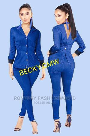 Classic Elegant New Female Jeans Pant Trouser and Jacket | Clothing for sale in Lagos State, Ikeja