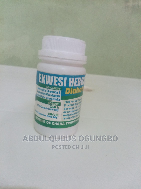 Archive: Ekwesi Herbal Capsule for Diabetes