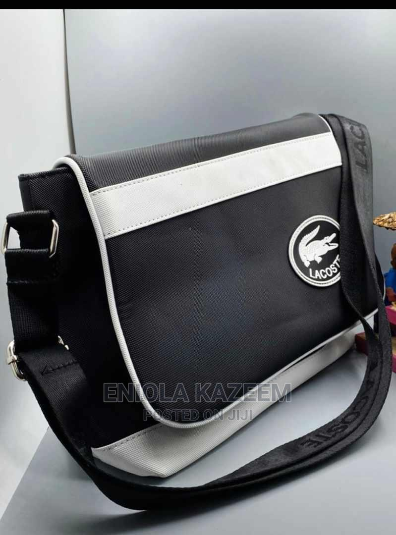 Original Lacoste Leather Bags Available for U Right Now