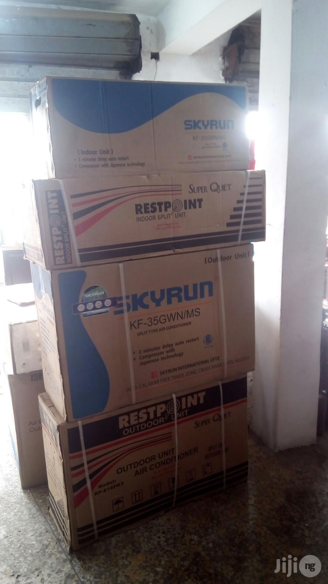 Skyrun / Restpoint Air Conditions, 1hp,1.5hp, 2hp.