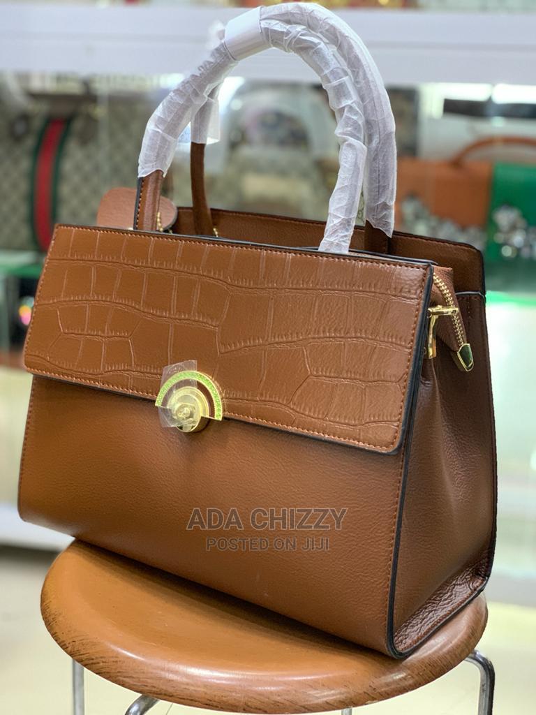 New Quality Female Brown Leather Handbag