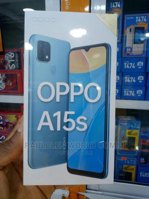 New Oppo A15s 64 GB Blue | Mobile Phones for sale in Lagos State, Ikeja
