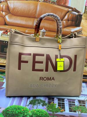 Original Fendi Roma Cream Handbag   Bags for sale in Lagos State, Ikeja