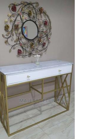 Gold Console Table | Furniture for sale in Lagos State, Ojo