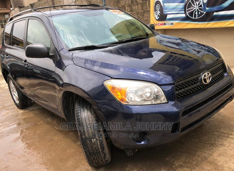 Archive: Toyota RAV4 2007 2.0 4x4 Blue