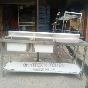 Stainless Steel Sink Banch | Restaurant & Catering Equipment for sale in Lagos State, Ojo