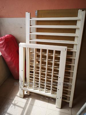 SOLD - Original Foreign Used Baby Cot With Mattress | Children's Furniture for sale in Lagos State, Alimosho
