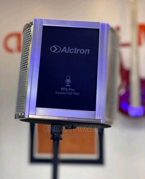 Alctron PF8 Pro Simple Studio Mic Screen Acoustic Filter.   Audio & Music Equipment for sale in Lagos State, Ikeja
