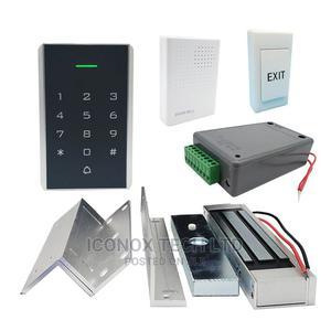 Keypad Door Access Control Kit +Lock+Power Supply+Exit | Doors for sale in Lagos State, Ikeja