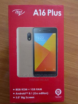 New Itel A16 Plus 8 GB Black | Mobile Phones for sale in Cross River State, Calabar