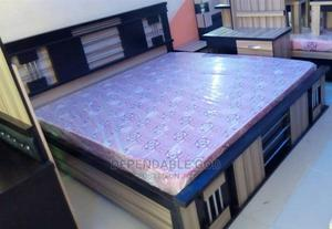 Guaranteed Modern 6by6 Bed With 2 Side Drawer Mattress   Furniture for sale in Lagos State, Ipaja