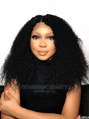 Kinky Curly Closure Wig   Hair Beauty for sale in Lagos State, Ajah