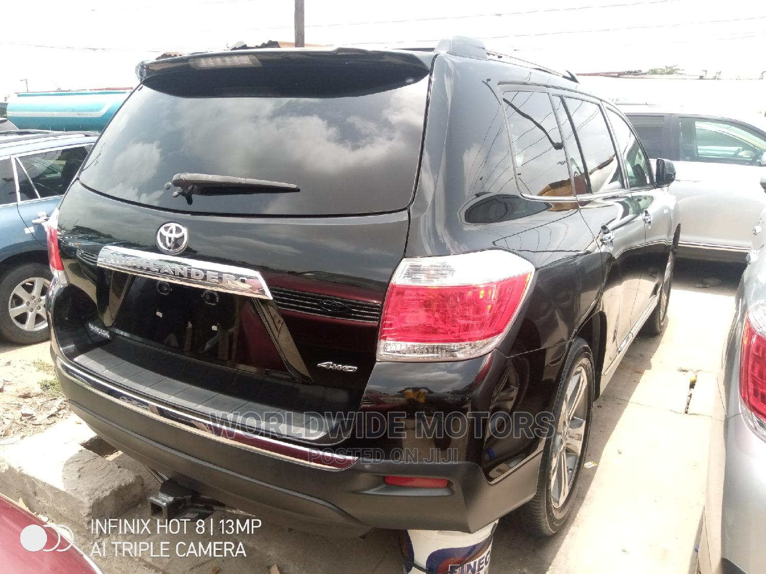 Toyota Highlander 2013 Limited 3.5l 4WD Black   Cars for sale in Apapa, Lagos State, Nigeria
