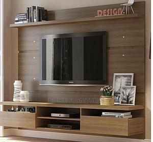 Modern Tv Stand With Shelves   Furniture for sale in Lagos State, Ikoyi