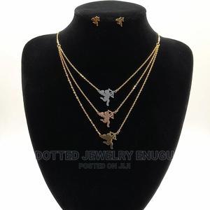 Gorgeous Steel Set (Three Steps Chain)   Jewelry for sale in Enugu State, Enugu