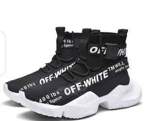 Off White Ankle Sneakers for Men and Women   Shoes for sale in Lagos State, Surulere