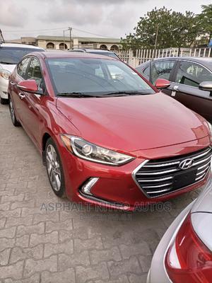 Hyundai Elantra 2017 Red   Cars for sale in Lagos State, Lekki