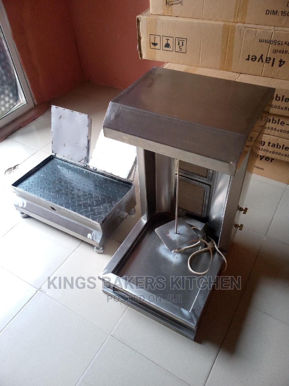 Shawarma Machine and Toaster Grill With One Year Warranty