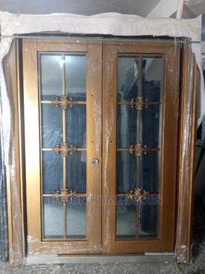 5ft Swing Glass Copper Door   Doors for sale in Lagos State, Orile