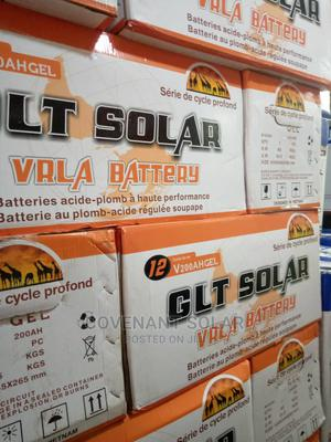 Glt Solar Battery 200ahs 12v With High Quality | Solar Energy for sale in Lagos State, Ojo