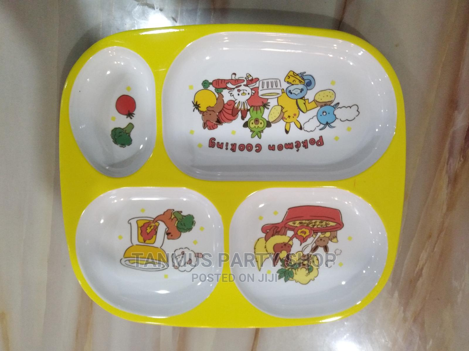 Portion Plates for Children Birthday Celebration Party Packs | Babies & Kids Accessories for sale in Alimosho, Lagos State, Nigeria