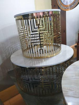 Designers Marble Round Table N Sides Stools | Furniture for sale in Lagos State, Lekki