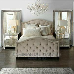 Upholstery Bed 4 1⁄2   Furniture for sale in Lagos State, Lekki